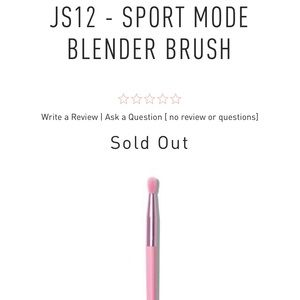 Jeffree Star X Morphe Sport Mode Brush SOLD OUT